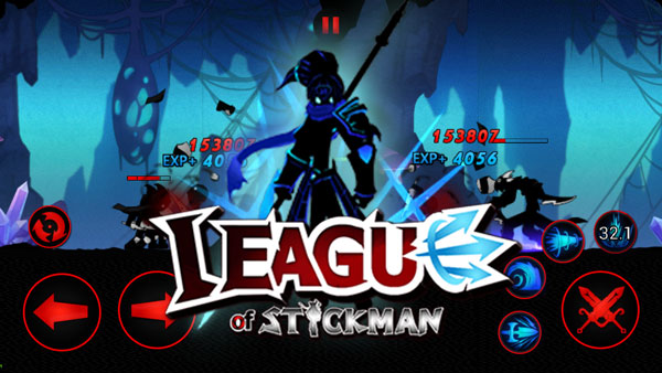 League of Stickman 2017 Ninja دانلود League of Stickman 2017 Ninja v4.0.2 بازی استیکمن نینجا اندروید + مود