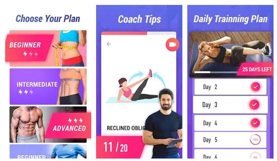 Lose Belly Fat in 30 Days دانلود Lose Belly Fat in 30 Days برنامه آب كردن شكم بدون ضرر اندروید