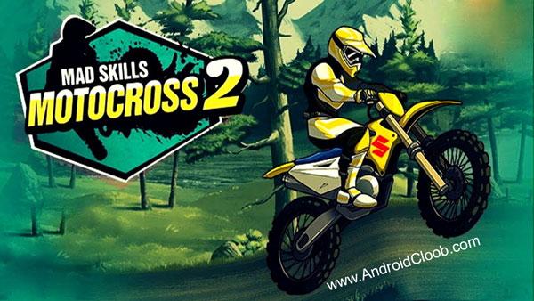 Mad Skills Motocross 2 دانلود Mad Skills Motocross 2 v2.6.7 بازی موتور کراس اندروید + مود