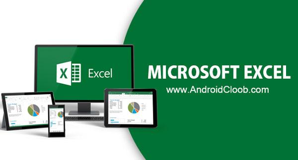 Microsoft Excel دانلود Microsoft Excel v16.0.9625 برنامه اکسل اندروید