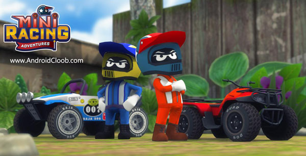Mini Racing Adventures دانلود Mini Racing Adventures v1.13.2 بازی مسابقات ماشینی مینی اندروید + مود