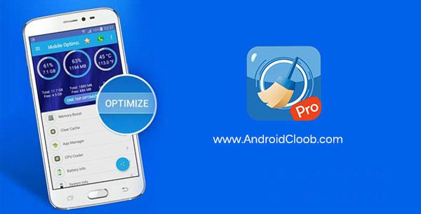 Mobile Optimizer Pro دانلود Mobile Optimizer Pro v1.0.3 برنامه بهینه ساز گوشی اندروید