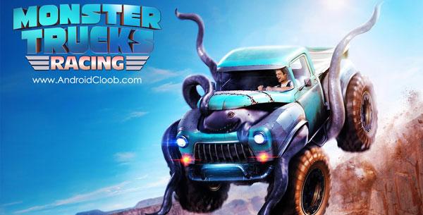 Monster Trucks Racing دانلود Monster Trucks Racing v2.1.0 بازی ماشین های غول پیکر اندروید + مود