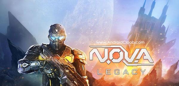 NOVA Legacy دانلود N.O.V.A. Legacy v4.1.5 بازی میراث نوا اندروید + مود