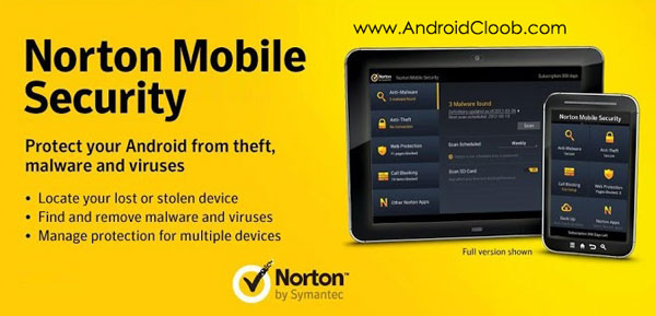Norton Security and Antivirus دانلود Norton Security and Antivirus v3.19.0.3236 برنامه امنیتی نورتون اندروید