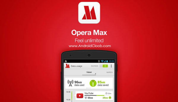 Opera Max Data manager دانلود Opera Max – Data manager v3.0.32 برنامه کاهش مصرف اینترنت اندروید