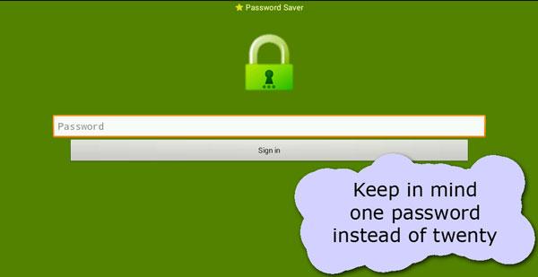 Password Saver دانلود Password Saver v6.4.4 برنامه ذخیره سازی پسورد اندروید