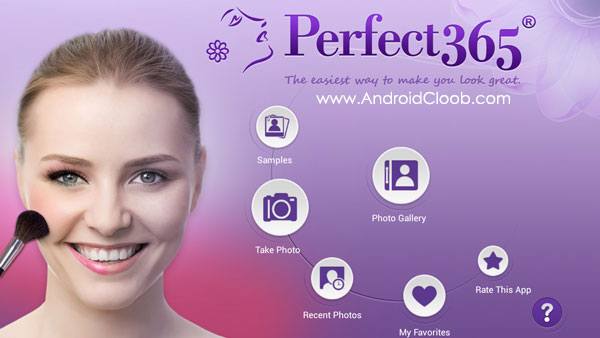 Perfect365 One Tap Makeover دانلود Perfect365: One Tap Makeover v6.33.14 برنامه زیبا کننده صورت اندروید