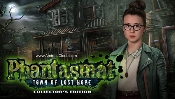 Phantasmat Town of Lost Hope دانلود Phantasmat: Town of Lost Hope v1.0 بازی پازلی شب بی پایان اندروید + نسخه فول