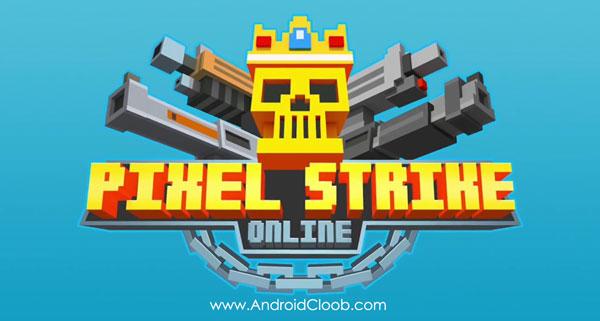 Pixel Strike Online دانلود Pixel Strike Online v1.13.0 بازی حمله پیکسلی اندروید + مود