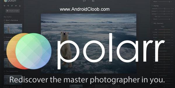 Polarr Photo Editor دانلود Polarr Photo Editor v4.0.3 برنامه ویرایش عکس اندروید