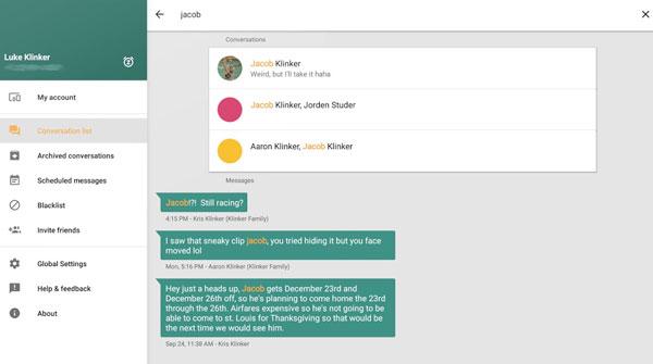 Pulse Messenger دانلود Pulse Messenger   SMS on a PC v2.3.1.1196 برنامه مدیریت پیامک اندروید