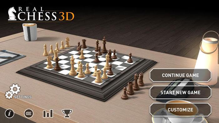 Real Chess 3D 1 دانلود Real Chess 3D v1.1 بازی شطرنج سه بعدی و واقع گرایانه اندروید