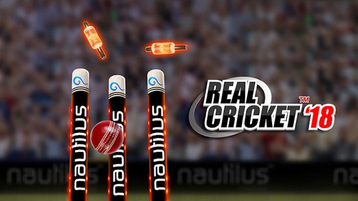Real Cricket 18 دانلود Real Cricket 18 v1.1 بازی کریکت واقعی و حرفه ای اندروید