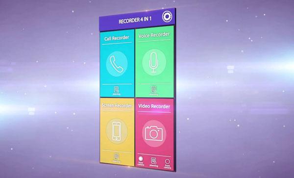 Recorder 4 in 1 PRO دانلود Recorder 4 in 1 PRO v2.1.2 برنامه ضبط 4 کاره اندروید