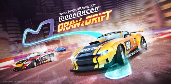 Ridge Racer Draw And Drift دانلود Ridge Racer Draw And Drift v1.2.3 بازی ماشین مسابقه ای اندروید + مود