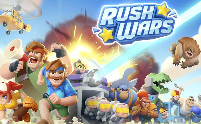 Rush Wars دانلود Rush Wars 0.188.5 بازی استراتژی راش وارز اندروید