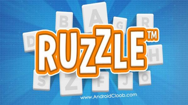 Ruzzle دانلود Ruzzle v2.2.14 بازی فکری حروف الفبا اندروید