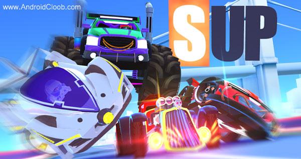 SUP Multiplayer Racing دانلود SUP Multiplayer Racing v1.3.0 بازی ماشین سواری انلاین اندروید + مود
