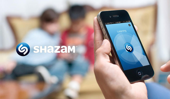 Shazam دانلود Shazam v9.50 برنامه جستجوی خواننده آهنگ با صدا اندروید