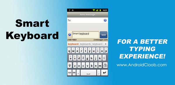 Smart Keyboard Pro دانلود Smart Keyboard Pro v4.20.0 برنامه کیبورد حرفه ای شکلک دار اندروید