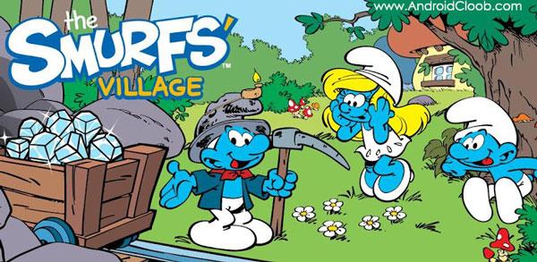Smurfs Village دانلود Smurfs' Village v1.47.0 بازی اسمورف ها اندروید + مود