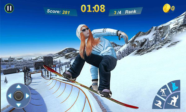 Snowboard Master 3D دانلود Snowboard Master 3D v1.2 بازی اسنوبورد اندروید + مود
