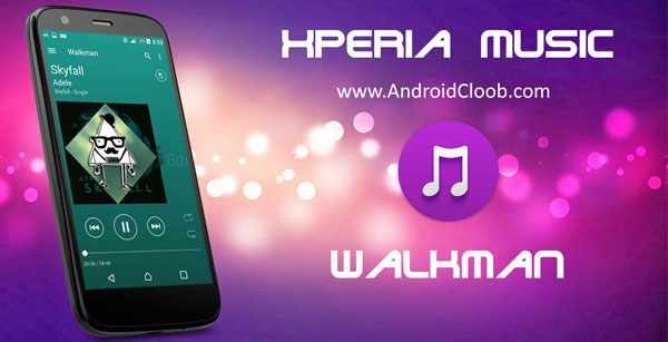 Sony Walkman Music دانلود XPERIA Walkman Music v9.3.12 برنامه موزیک پلیر سونی اندروید
