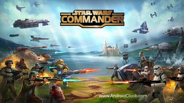 Star Wars Commander دانلود Star Wars : Commander v4.9.0.9641 بازی جنگ ستارگان اندروید +مود