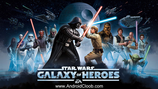 Star Wars Galaxy of Heroes دانلود Star Wars: Galaxy of Heroes v0.11 بازی نگهبانان کهکشان اندروید + مود