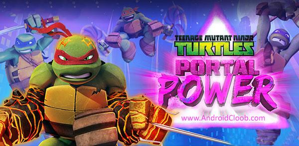 TMNT Portal Power دانلود TMNT Portal Power v225 بازی جدید لاکپشت های نینجا اندروید