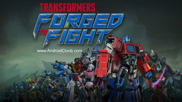 TRANSFORMERS Forged to Fight دانلود TRANSFORMERS: Forged to Fight v1.0.1 بازی جنگ ربات ها اندروید