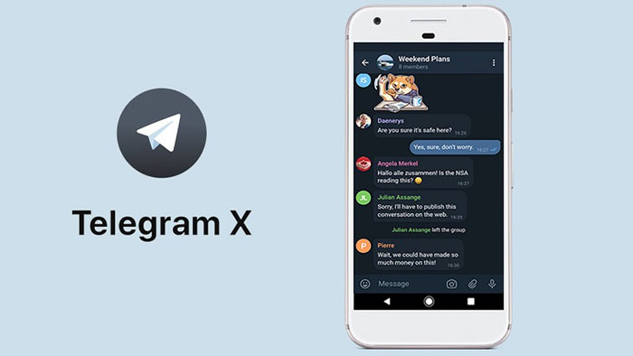 Telegram X 1 دانلود Telegram X 0.21.0 نسخه جدید تلگرام ایکس اندروید