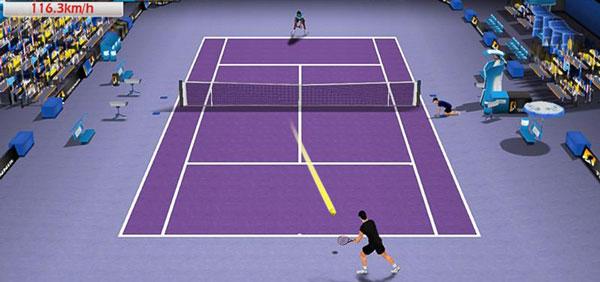 Tennis 3D دانلود Tennis 3D v1.7.4 بازی تنیس 3 بعدی اندروید