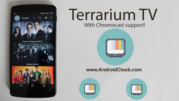 Terrarium TV دانلود Terrarium TV برنامه تماشای آنلاین فیلم اندروید