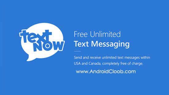 TextNow دانلود TextNow   free text + calls v5.45 ساخت شماره مجازی اندروید