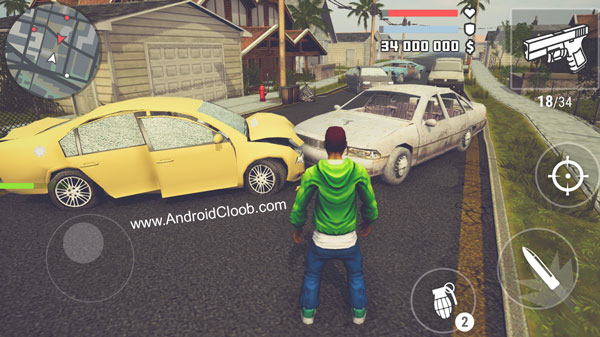 The Grand Wars San Andreas دانلود The Grand Wars: San Andreas v1.15 بازی سن آندرس اندروید