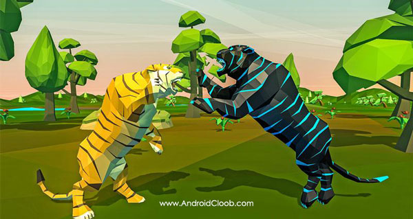Tiger Simulator Fantasy Jungle دانلود Tiger Simulator Fantasy Jungle v1.0 بازی شبیه ساز ببر جنگل اندروید + مود