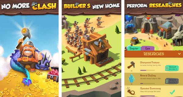 Townhall Builder Clash for Elixir دانلود Townhall Builder : Clash for Elixir v2.3.0 بازی نبرد برای اکسیر اندروید + مود