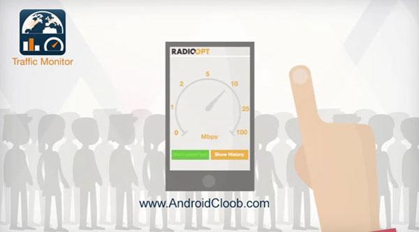 Traffic Monitor دانلود Traffic Monitor & 3G/4G Speed v7.6.0 برنامه مدیریت مصرف اندروید