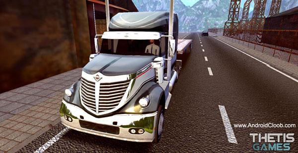 Truck Simulator Europe 2 HD دانلود Truck Simulator Europe 2 HD v1.0.3 بازی شبیه ساز کامیون اروپا 2 اندروید + مود