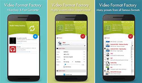 Video Format Factory دانلود Video Format Factory v2.8 برنامه تغییر فرمت فیلم اندروید