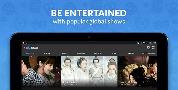 Viki TV Dramas Movies دانلود Viki: TV Dramas & Movies v4.9.1 سریال کره ای عاشقانه اندروید