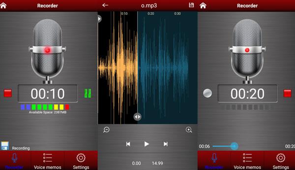 Voice Record Pro دانلود Voice recorder pro v2.3.1 برنامه ضبط صدا اندروید