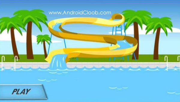 Water Slide 3D دانلود Water Slide 3D v1.13 بازی سرسره آبی اندروید