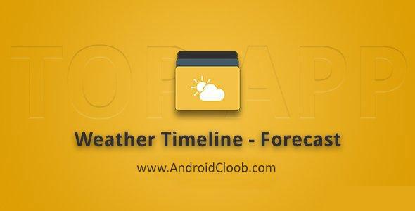 Weather Timeline Forecast دانلود Weather Timeline   Forecast v10.0.3 نرم افزار پیش بینی وضع هوا اندروید