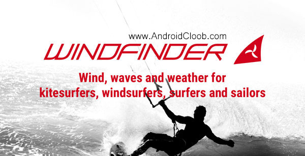 Windfinder Pro دانلود Windfinder Pro v2.4.0 Final برنامه جهت وزش باد اندروید