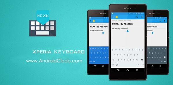 Xperia Keyboard دانلود Xperia Keyboard v8.0.A.0.110 کیبورد اکسپریا اندروید
