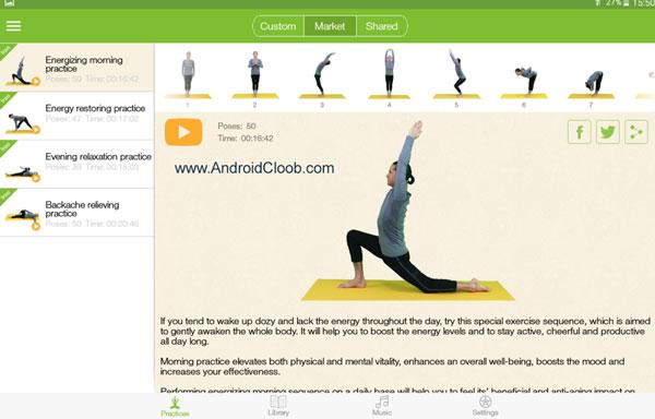 Yoga Plus دانلود Yoga Plus – Asanas & Classes v2.4.3 برنامه آموزش یوگا اندروید