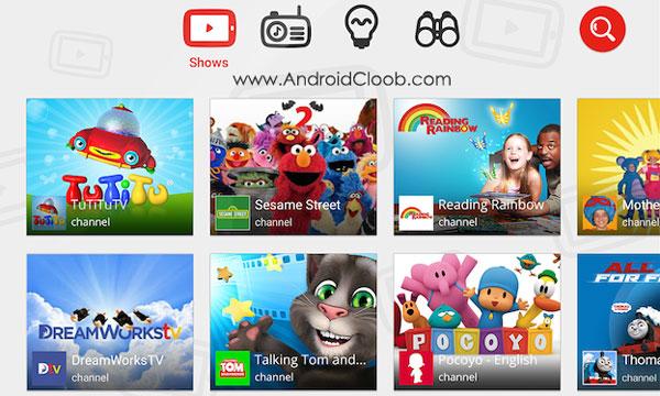 YouTube Kids دانلود YouTube Kids v2.21 برنامه یوتیوب کودکان اندروید